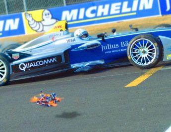 Formula E VS Drone Titan