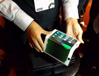Lenovo Pamerkan Tablet Android Bisa di Lipat