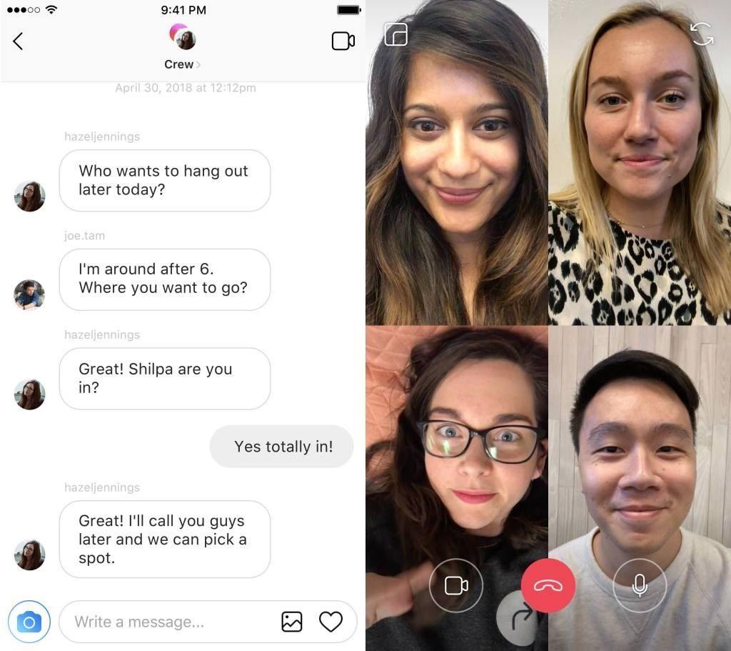Instagram Bikin Fitur Video Chat