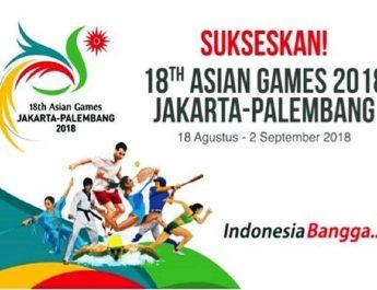 Jadwal Pertandingan Indonesia di ajang ASIAN GAMES 2018 Jakarta Palembang Hari Ini
