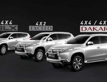 Kisaran Pajak Mobil Pajero Sport Dakar Tahun 2019-2020