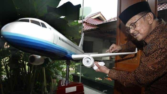karya pesawat Terbang BJ Habibie